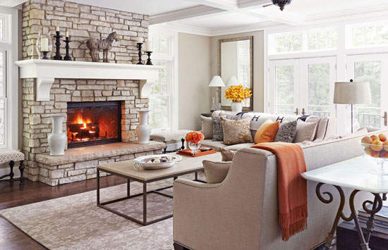 Interior Design by Rosemary Merrill Photography by Werner Straube via Traditional Home