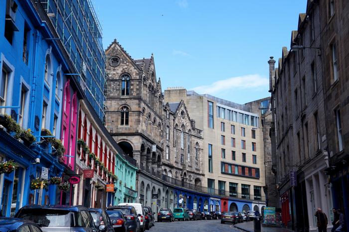 Edinburgh Victoria Street