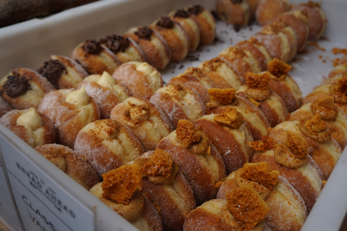 Bread Ahead doughnuts, Borough Market London