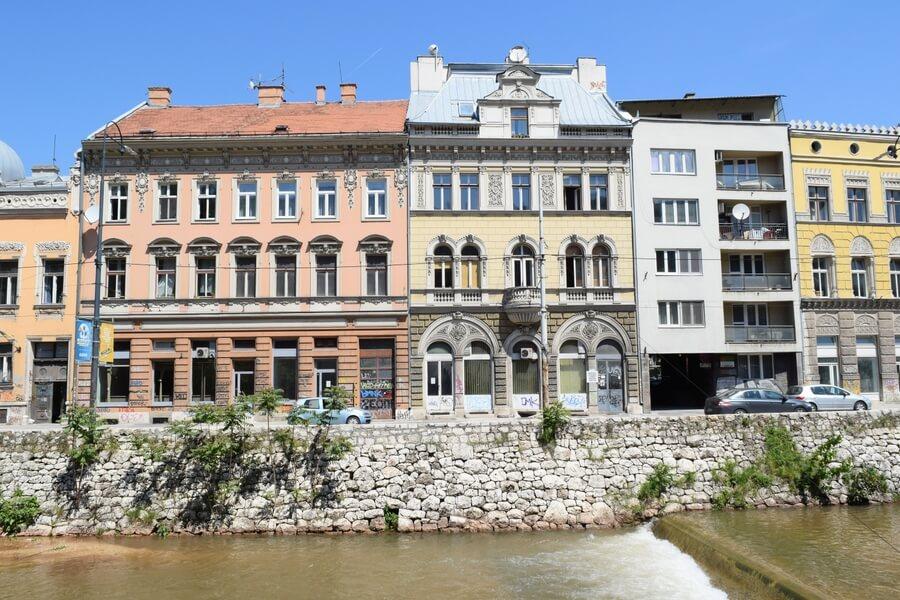 Sarajevo Bosnia Architecture
