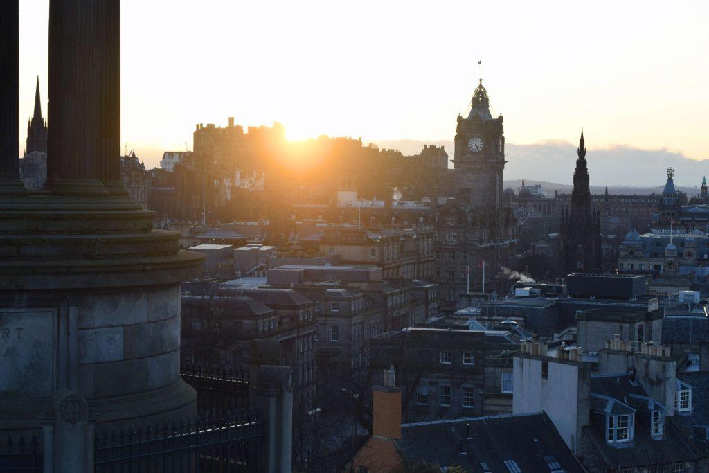 Calton Hill, Edinburgh Sunset