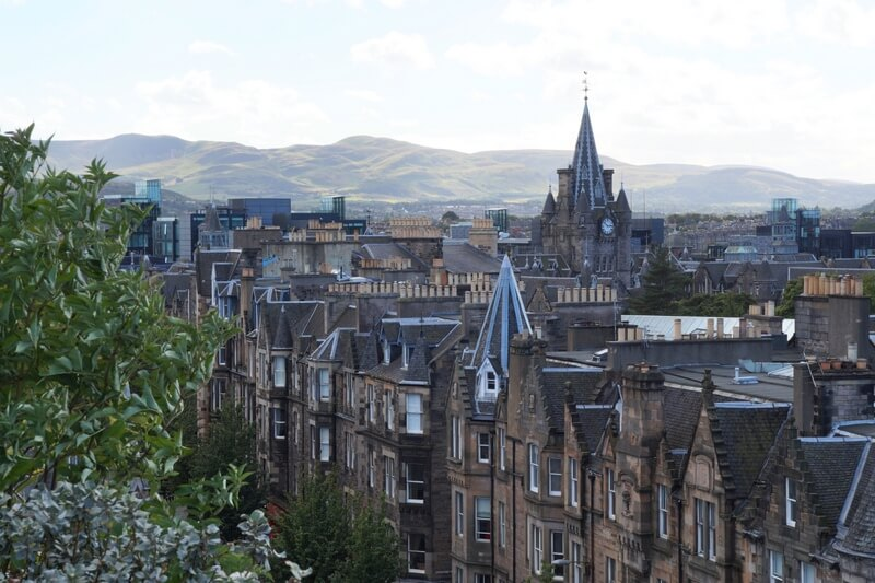 National Museum Edinburgh Rooftop