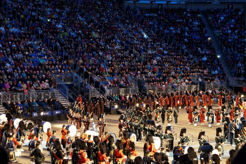 Royal Military Tattoo Edinburgh Scotland