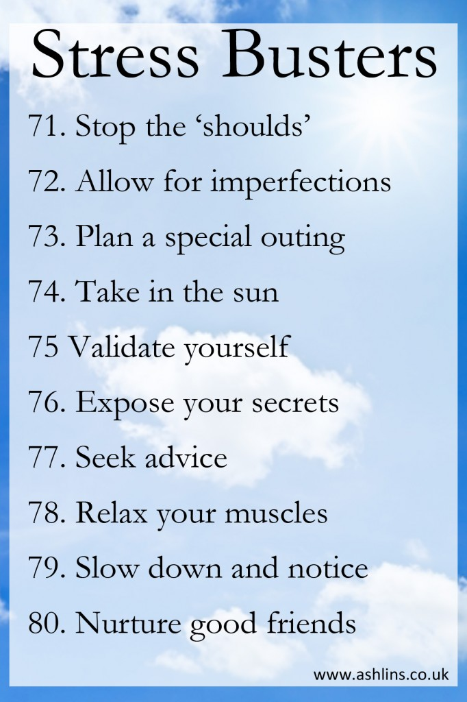 Stress Busters 71-80