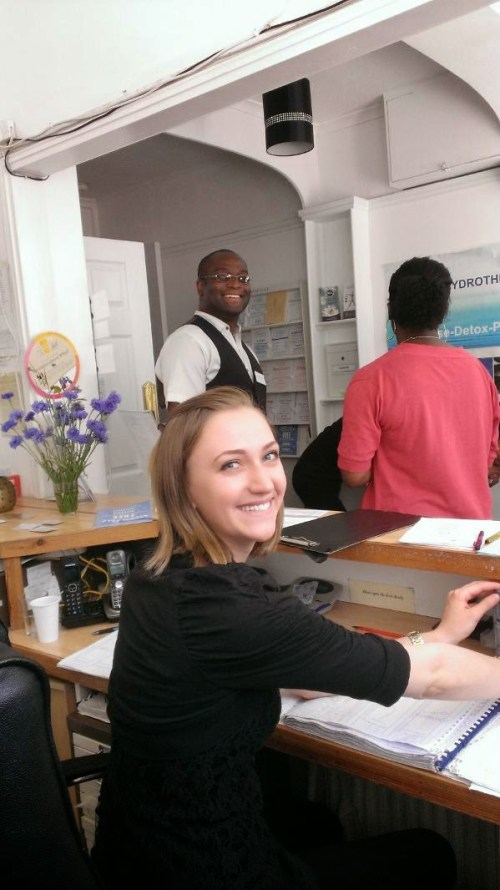 Our reception team are beautiful, friendly and helpful