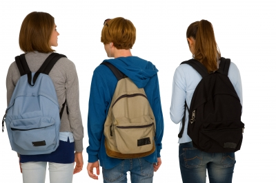 Carry your backpack on both shoulders