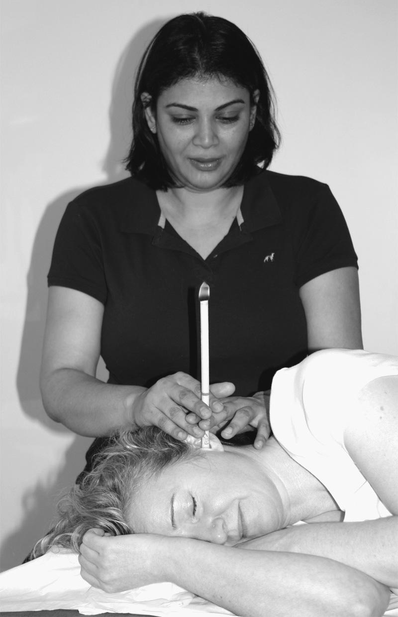 Ear candling tratment