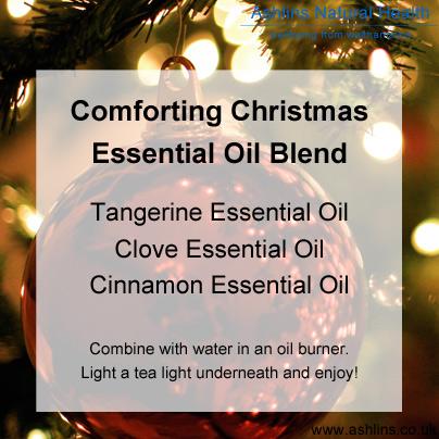 Essential oil recipe - seasonal christmas blend