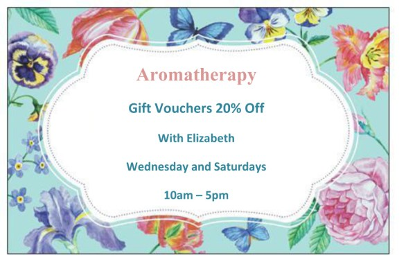 aromatherapy offer, walthamstow