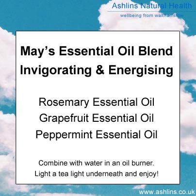 Invigorating Essential Oil Blend - Rosemary, Grapefruit, Peppermint