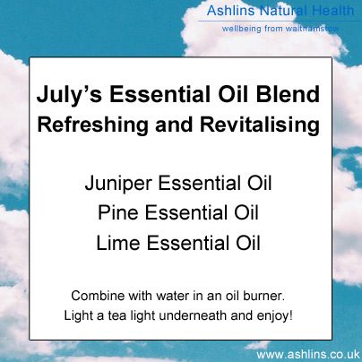Refreshing Essential Oil Blend for July