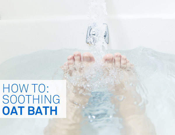 How to make an Oat Bath for sensitive skin