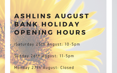 August Bank Holiday – Opening Hours