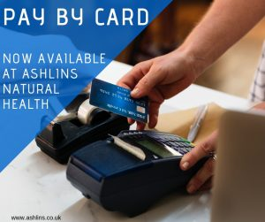 card payments at ashlins E17
