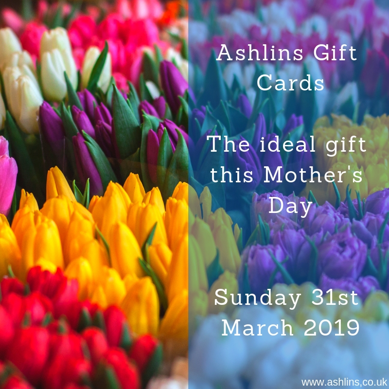 Gift Vouchers for Mother's day