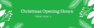 Christmas Opening Hours 2018
