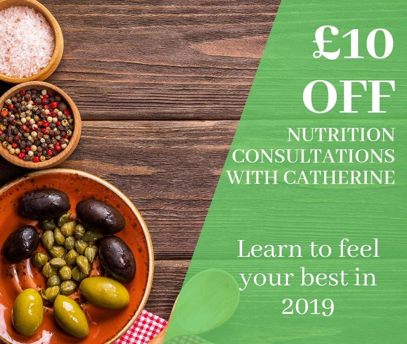 New Year  New You, £10 off Nutrition Consultations