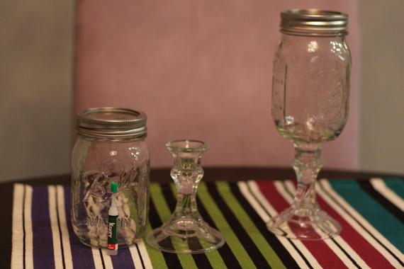 Diy Mason Jar Wine Glass Ash N Fashn