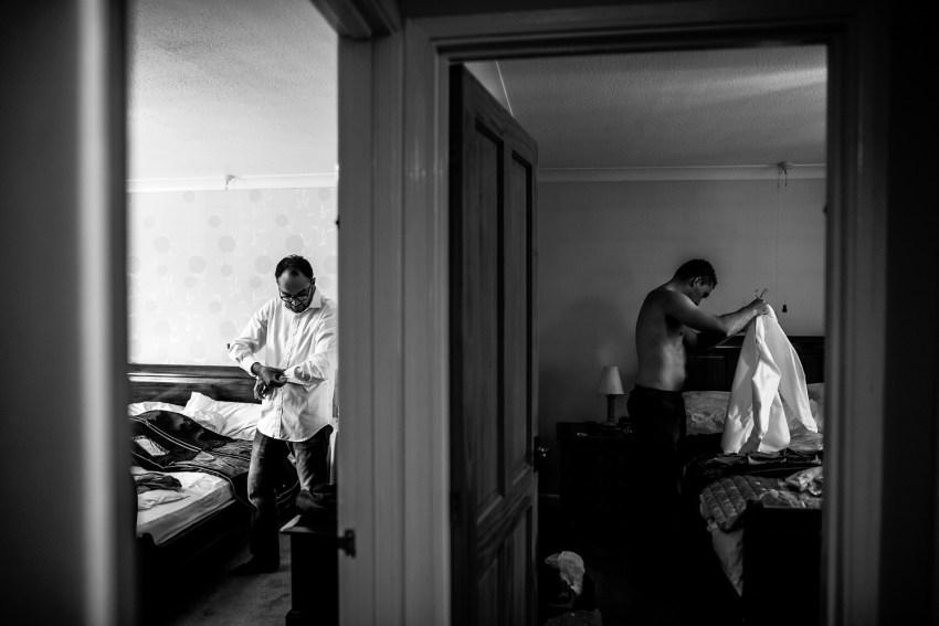 documentary wedding photographer Leicester