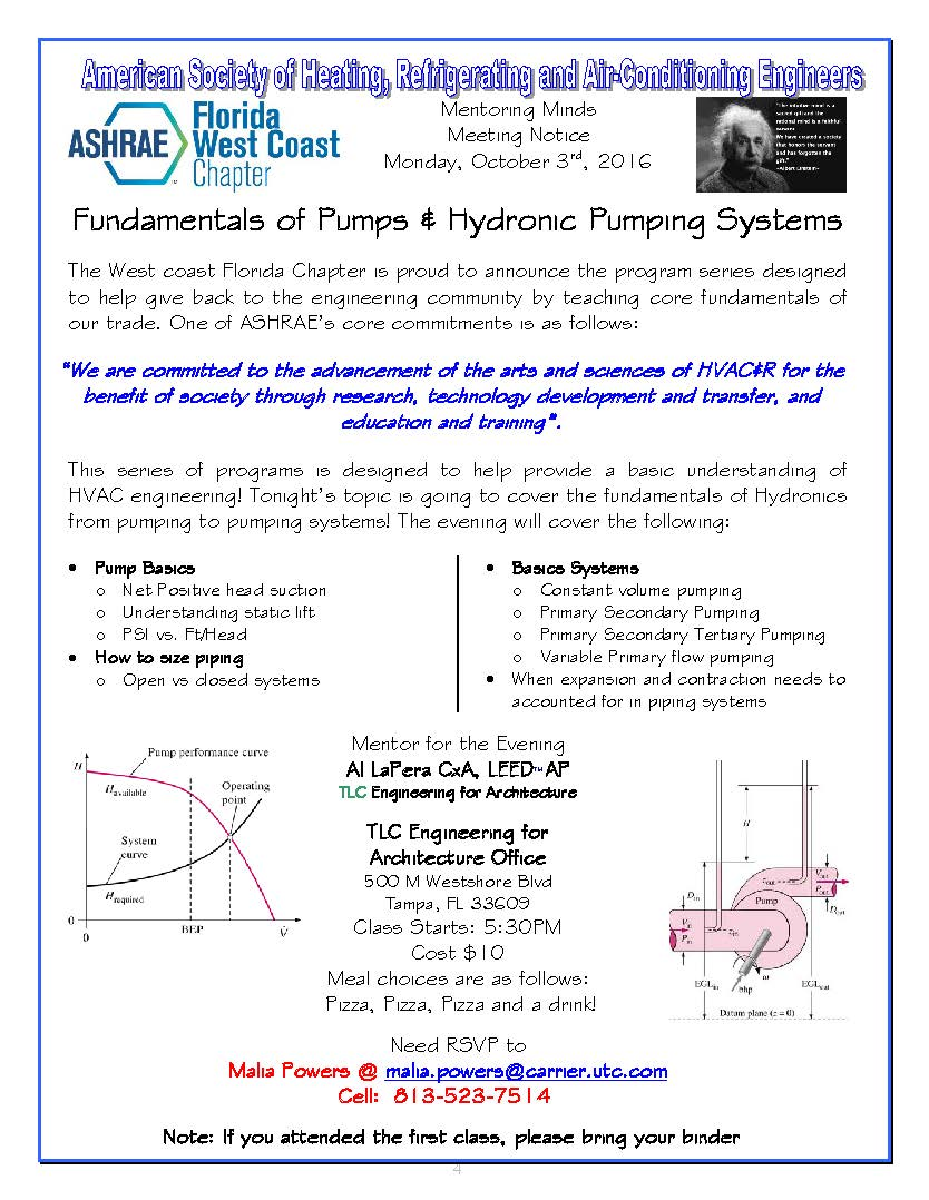 hight resolution of mentoring minds the fundamentals of pumping hydronic pumping system