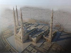 new masjid e Nabawi