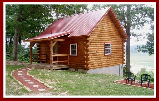 Amish Ohio Log Home Builders