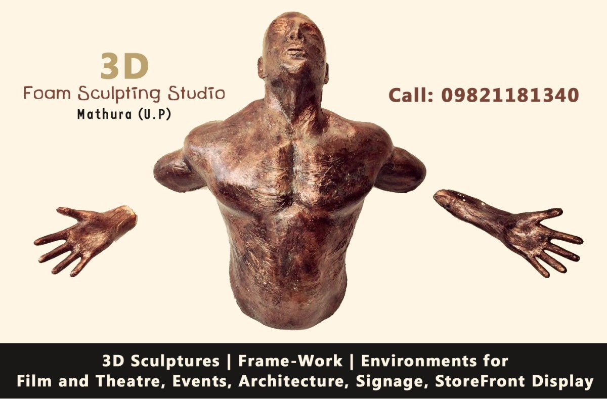 3D Foam Sculpting Studio, Mathura (UP), India