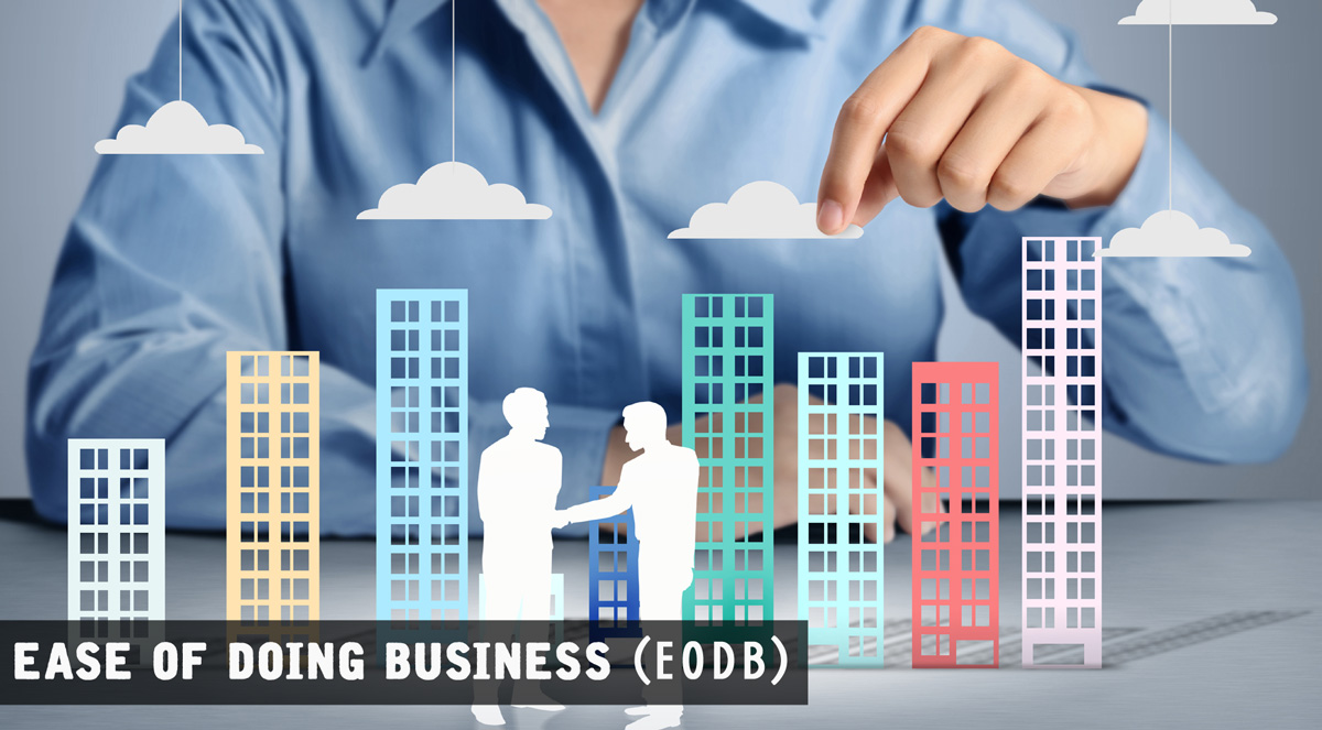 EODB Index (Ease of Doing Business) 2017