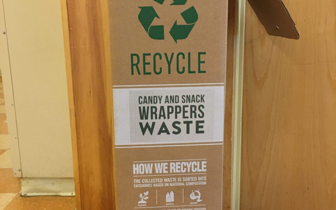 We're Recycling Wrappers!
