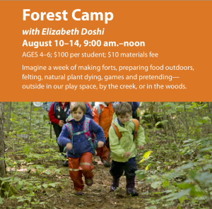 Forest Camp @ Ashwood Waldorf School