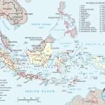 Indonesia Map Flag Capital Jakarta