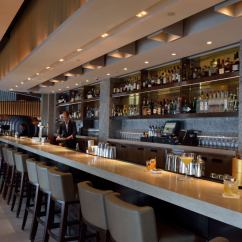 Counter Height Arm Chairs Chair Cushions At Walmart Cafe Gray Deluxe- Bar & Lounge The Upper House, Hong Kong – Socialise In Singularly Stylish ...