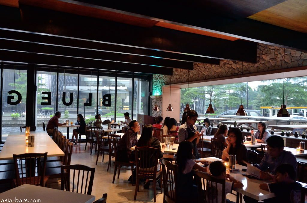 Bluegrass Bar  Grill stylish eatery and bar in central Jakarta is one of the vibrant new
