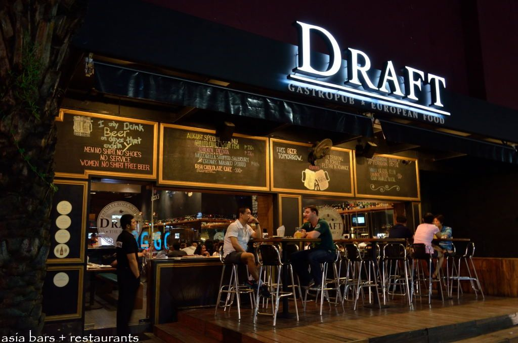 unusual wooden chair hammer miller draft gastropub – european beers and quality pub food at the fort in manila   asia bars ...