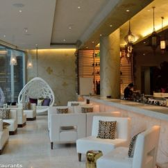 Upholstered Counter Chairs Chair Covers For Home Woobar- Lounge Bar At W Singapore Sentosa Cove | Asia Bars & Restaurants