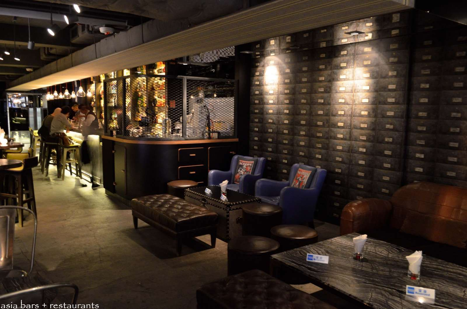 looking for leather sofas cast iron sofa quinary- innovative cocktail bar in hong kong | asia bars ...
