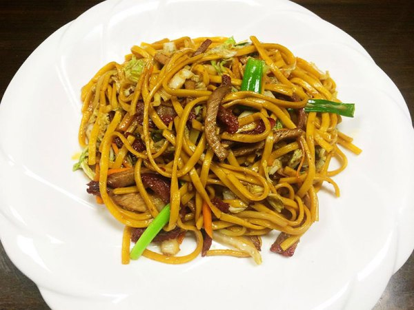Roasted Port Lo Mein - Asia Grill - Chinese Restaurant Peoria IL