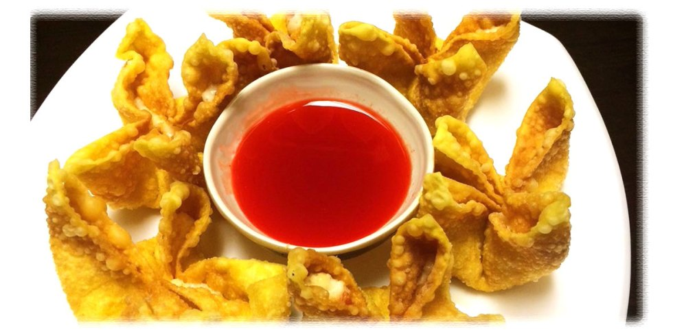 Crab Rangoon in Asia Grill Peoria IL
