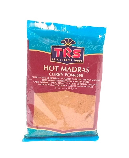 Curry in polvere Madras Hot  Trs 100g  100  Asia