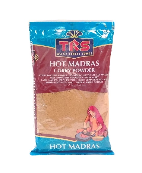 Curry in polvere Madras Hot  Trs 400g  320  Asia