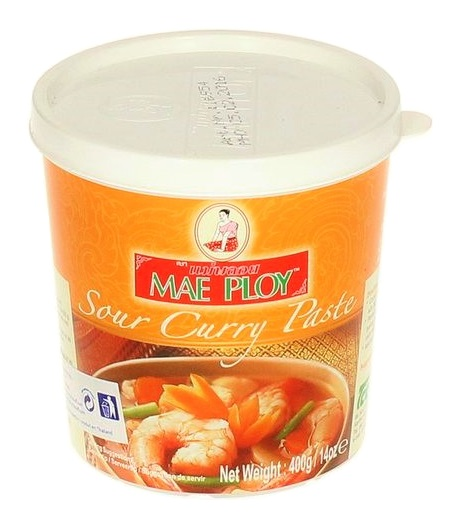 Sour curry paste  Mae Ploy 400 gr  345  AsiaMarket