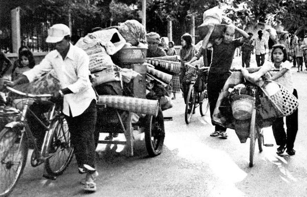 Evacuazione forzata di Phnom Penh 1975