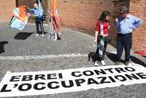 Ebrei contro l'occupazione. Foto Alessio Fratticcioli