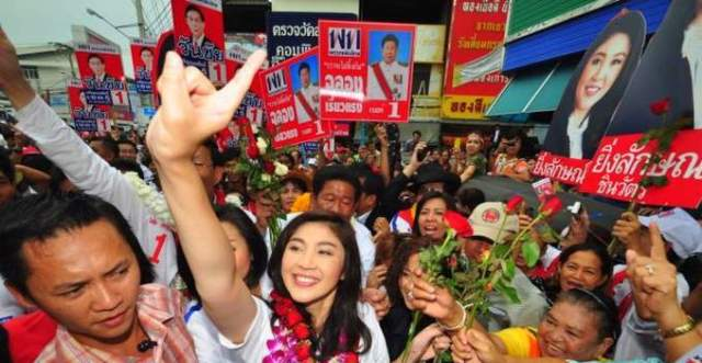 politica thailandia yingluck