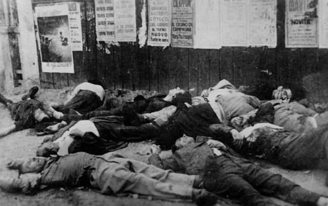 Strage di Piazzale Loreto Milano 10 agosto 1944