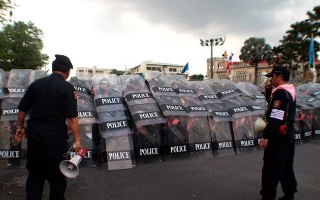 polizia thailandia