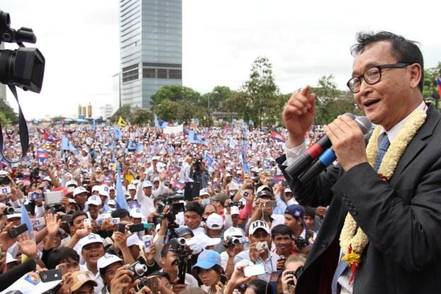 cambogia elezioni 2013 sam rainsy phnom penh