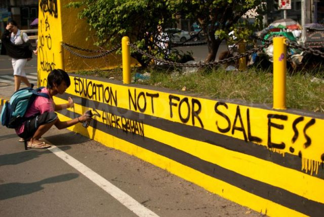education is not for sale