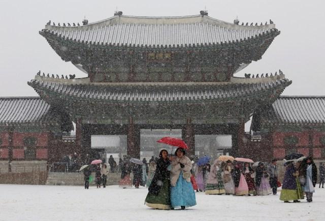 palazzo Gyeongbokgung, Seul, Corea del Sud