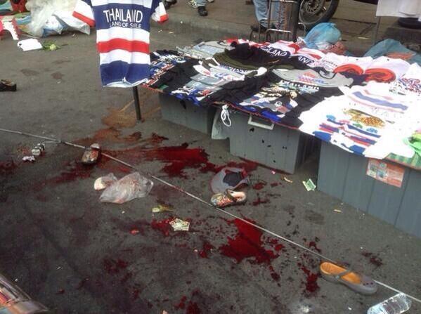 thailandia bombe morti bambini